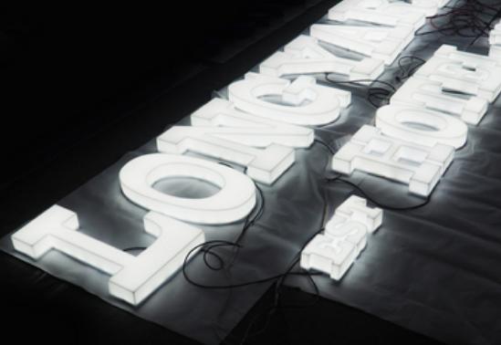アクリル樹脂ライト